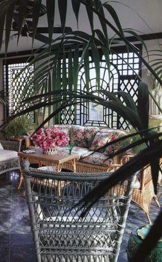 STYLISH SUNROOMS | Mark D. Sikes: Chic People, Glamorous Places, Stylish Things
