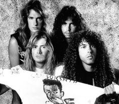 Dave Mustaine, David Ellefson, Marty Friedman, Nick Menza -Megadeth