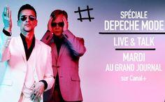 Les vidéos live replay de Depeche Mode en live au Grand Journal (Canal+)| concertlive.fr