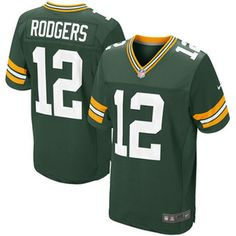 bfd22b471 Aaron Rodgers Green Bay Packers Nike Elite Jersey - Green Nike Elites