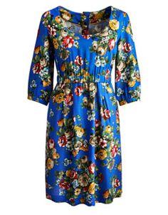 LEILA Womens Woven Dress