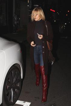 Kate Hudson wearing Jimmy Choo Tatum Fringe Bag