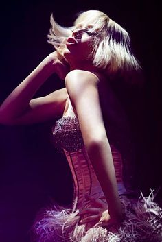 They all say 'darling, what did you do for those pearls' - I Am a Good Girl by Christina Aguilera from Burlesque