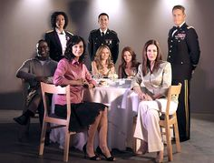 """Lifetime played """"Taps"""" Tuesday for its longest running series, the military soap opera """"Army Wives."""" The story of life among military wives and husbands on an Army base recently finished its seventh season. Kim Delaney, Army Post, Catherine Bell, Wife Pics, Army Wives, Series Premiere, Military Love, Entertainment, Season 7"""