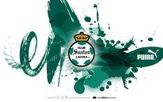 #Wallpaper Mod041113CTG(1) #LigraficaMX #DiseñoYFútbol #ElFútbolNosInspira • @clubsantoslagun #Puma
