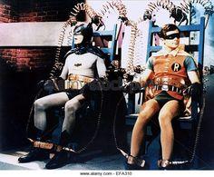 ADAM WEST & BURT WARD BATMAN (1966) - Stock Image