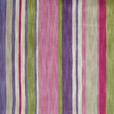 The G9445 Flamingo upholstery fabric by KOVI Fabrics features Stripe pattern and Pink, Purple as its colors. It is a Cotton, Made in USA type of upholstery fabric and it is made of 100% Cotton material. It is rated Exceeds 15,000 double rubs (heavy duty) which makes this upholstery fabric ideal for residential, commercial and hospitality upholstery projects.For help please call 800-860-3105.