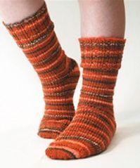 FREE PATTERNS--loom knitting---Socks