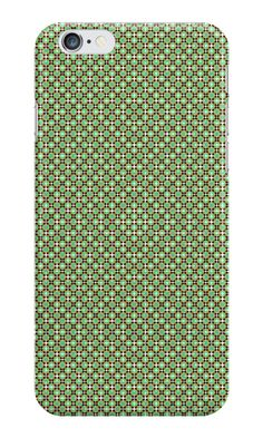 #IPhone #case / #skin with green pattern  http://www.redbubble.com/people/kuzmich/works/20873630-pattern-1005-green?c=488730-the-patterns&p=iphone-case&ref=work_collections_grid