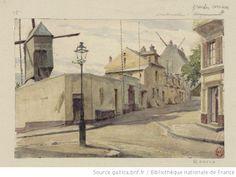 Butte Montmartre : 18è Montmartre - Grandes Carrières : [dessin] / L. Ottin [Auguste Louis Marie Ottin] - 1
