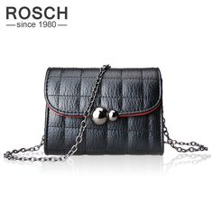 66e6d92231 Aliexpress.com   Buy Fashion Designer Women Mini Crossbody Chain Bags 2017  Luxury Brand High Quality PU Leather Ladies Messenger Shoulder Bag from  Reliable ...
