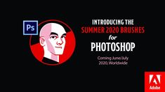 Summer 2020 Photoshop Brush Preview