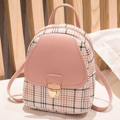 Girly Backpacks, Cute Mini Backpacks, Stylish Backpacks, Cute Backpacks For Women, Little Backpacks, Small Backpack, Backpack Bags, Leather Backpack, Ladies Backpack