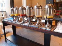juice bar design | Buffet Breakfast @ Glass Brasserie - Sydney