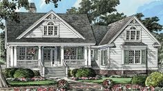 Home Plan HOMEPW77452 is a gorgeous 1905 sq ft, 1 story, 3 bedroom, 2 bathroom plan influenced by  Country  style architecture.