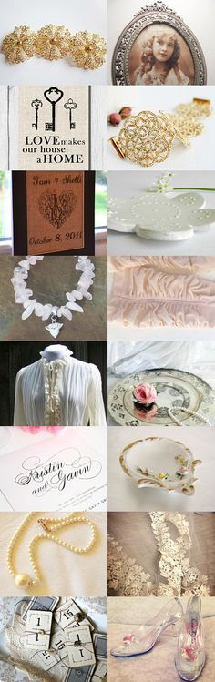 Vintage Wedding by Veddma on Etsy--Pinned with TreasuryPin.com