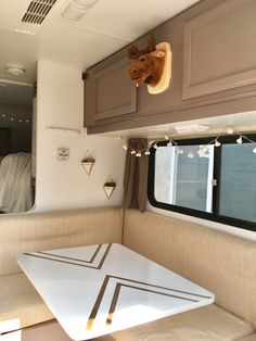 Truck camper trailer remodel before and after @insta_sara #traveltrailers