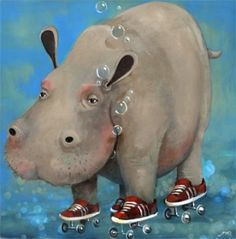 Hippo Roller!! Because I love hippos too