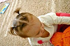 Hair styles for crazy toddler girl hair