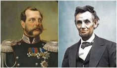 Russian Tsar Alexander II (left) emancipated the Russian serfs and President Abraham Lincoln (right) emancipated the slaves during the 1860s.  Of course, both of these stories are more complicated, and true emancipation took much longer.  Nonetheless, the impulse toward liberty (liberalism) was at its height in this latter part of the 1800s. Mafia, Abraham Lincoln, Modern World History, University Of Virginia, Presidents, Liberalism, Liberty, History, Men