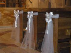 Hope and Joy Home DIY wedding pew bows … … | Pinteres…