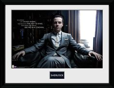 Sherlock - Sherlock Holmes - Moriarty Chair - Big Framed Collector Print <<< I just bought this one for $9 and a poster sale.