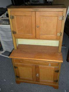 Child size seller's cabinet or hoosier