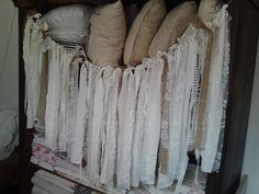 fabric garland Fabric Garland, Wooden Signs, Tissue Garland, Wooden Plaques, Wood Signs