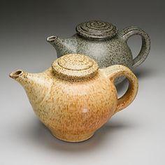 Teapots by Sunspots, Bill Mason and Ruth Swanson