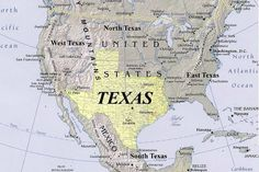 TexansMapoftheUSA by cowtown2, via Flickr