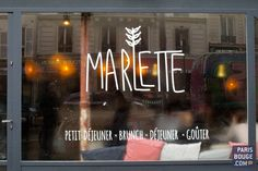 Marlette a enfin ouvert son café à Paris ! Crédit photos : Lucie de la Héronnière / ParisBouge.com.