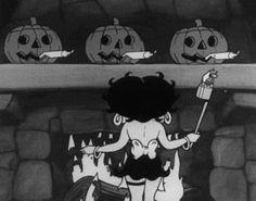 Betty Boop's Halloween Party 1933 spicyhorror