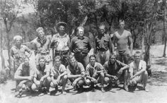 Camp Staff 1930 at Worth Ranch
