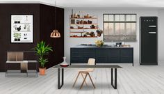 Eva Klíčová room at Neybers Showroom, Cabinet, Interior Design, Storage, Kitchen, Furniture, Home Decor, Clothes Stand, Nest Design
