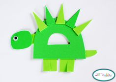 Meet the Dubiens: alphabet craft: D is for dinosaur