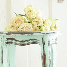 How To Distress Furniture With Vinegar - White Lace Cottage Heirloom Traditions Aqueduct paint and White Lime wax