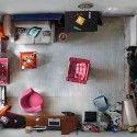 Arte y Arquitectura: El fotógrafo Menno Aden captura pequeños espacios de vida con cámaras instaladas en sus techos