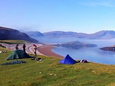 Tips for wild camping in Scotland