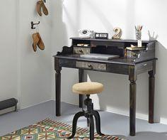 Sekretär Goa 3566, Wolf Möbel, Schreibtisch, Metallaplikation in Möbel & Wohnen, Möbel, Schreibtische & Computermöbel | eBay 205€