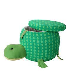 Loving this Henry the Turtle Storage Ottoman on #zulily! #zulilyfinds