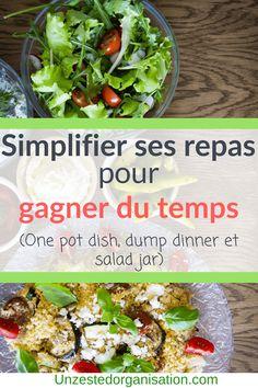 Simplifier ses repas pour gagner du temps - Un zeste d'organisation