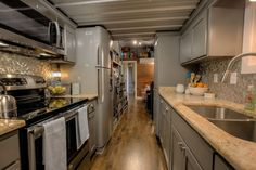 Small Home Plans, Tiny Living, Container House - Custom Container Living