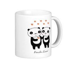 Panda Love Mug #valentines