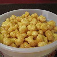 Puff Corn Carmel Corn