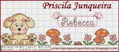 Priscila Junqueira Ponto Cruz: Fofura no Jardim