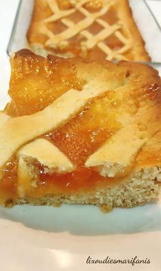 Greek Desserts, Greek Recipes, Eat Greek, Sweet Pie, Pie Cake, Holiday Cookies, Coffee Cake, Cookie Recipes, Food Processor Recipes