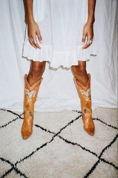Linda Evangelista, Catsuit, Cowgirl Boots, Riding Boots, Salvatore Ferragamo, Dior, Walk This Way, Leggings, Hunter Boots
