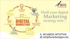 Draft your #DigitalMarketing Stratergy Now! Visit now:http://www.iboxtechnologies.com/