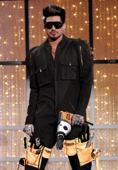 Worker Adam Lambert | Photoshop by Yani