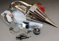 Motorcycle Part Spike Air Cleaner Kits intake filter for Honda Shadow 600 VLX600 1999-2012 CHROM